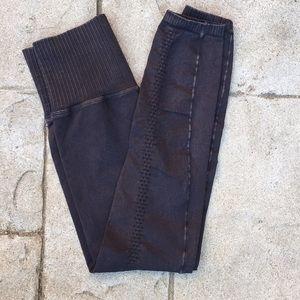 Free People Pants - High-Waisted Free People Shanti Cropped Leggings